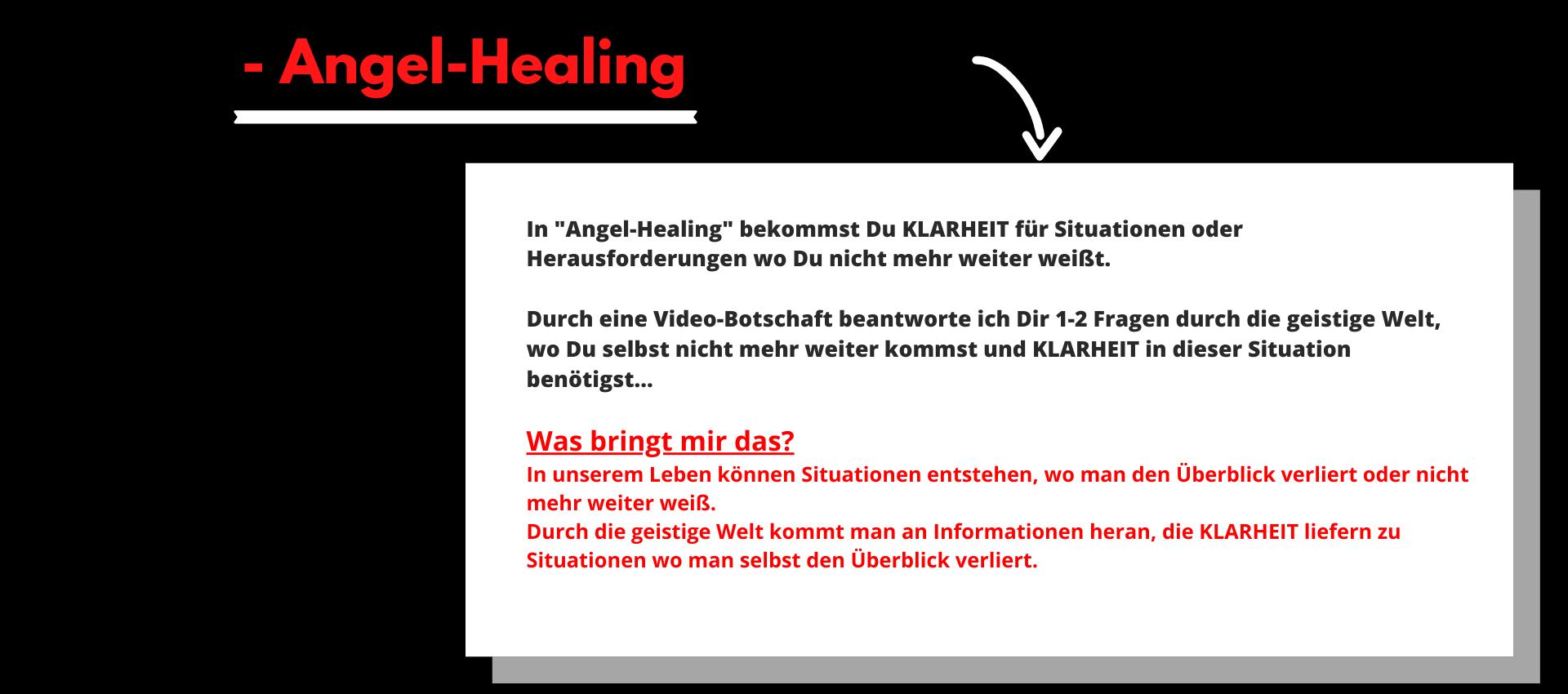 Angel Healing Beschreibung